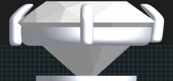 デザインは3D(立体)にてご提案、早速進めてまいります。