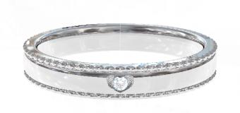 PT900 Genteel  結婚指輪 Cardia