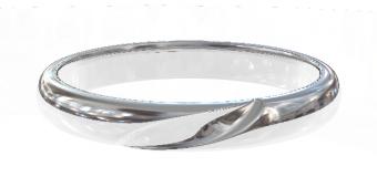 PT900 Genteel  結婚指輪 Concordia