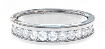 PT900 Genteel  結婚指輪 Laetitia