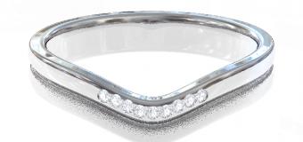 PT900 Genteel  結婚指輪 Oriens
