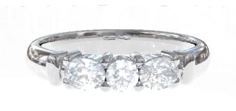 PT900 Genteel  結婚指輪 Regina