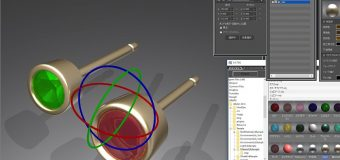 ジュエリー製作において3Dのデザイン画はお客様にとって安心できますね。