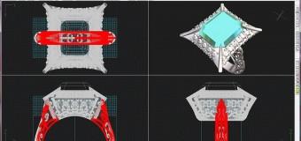CADシステム(3Dプリンター)で、思い通りのジュエリーを作成。