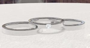 結婚指輪(Q&A) プラチナとホワイトゴールドの違いは…