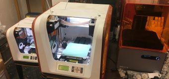 3Dプリンタ3台体制。。新しい時代へ走り出す!