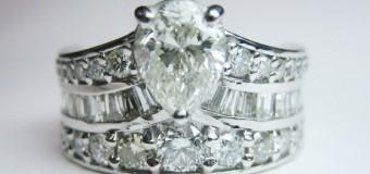 ゴージャスダイヤモンドリング